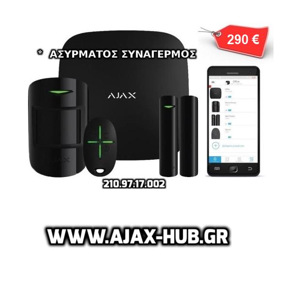 ajax συναγερμος